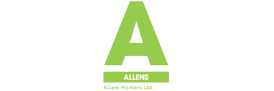 Logo for Allens Printers